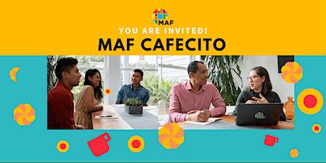 MAF Cafecito entradas