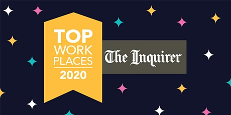 2020 Top Workplaces Awards tickets