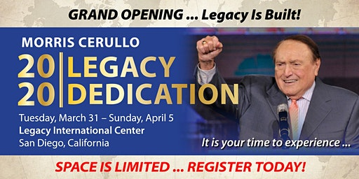 Legacy Dedication 2020