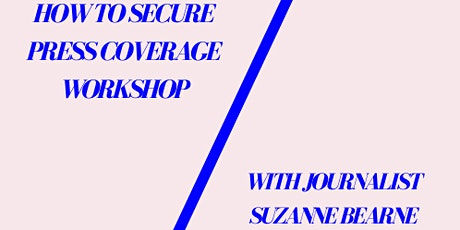 Lessons from a journalist: How to secure media coverage - this is now running as a webinar tickets