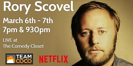 RORY SCOVEL at The Comedy Closet