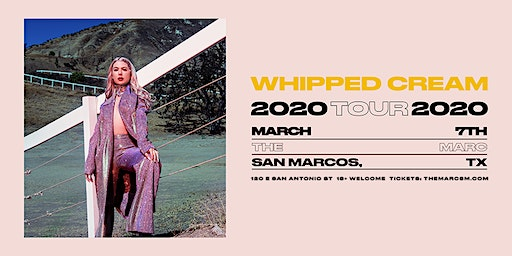 3.07 | WHIPPED CREAM | SAN MARCOS TX | THE MARC`