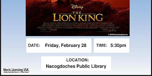 Movie Night: Lion King