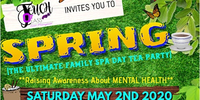 SPRING (The Ultimate Family Spa Day Tea Party)