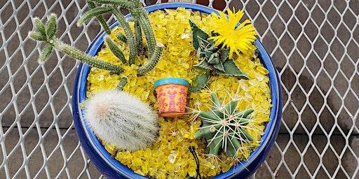 Cactus Container Garden Make & Take