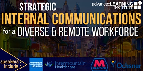 Strategic Internal Communications for a Diverse & Remote Workforce tickets