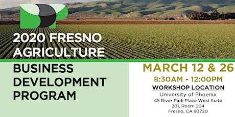 2020 Fresno Agriculture Business Development Program tickets