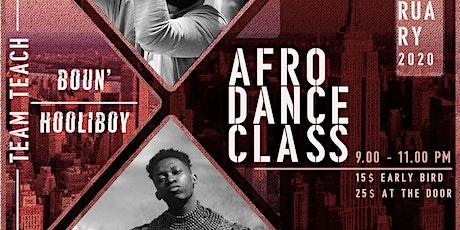 Boun X DoitlikeHooli Presents: Afrodance Class tickets