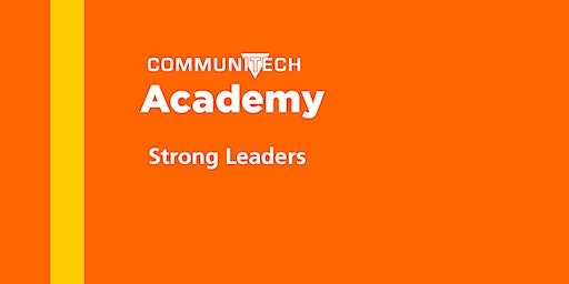 Communitech Academy: Strong Leaders - Fall 2020