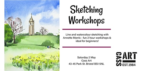 Sketching workshops at Cass Art Bristol tickets