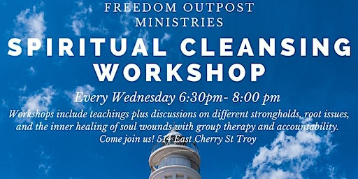 Spiritual Cleansing Workshop
