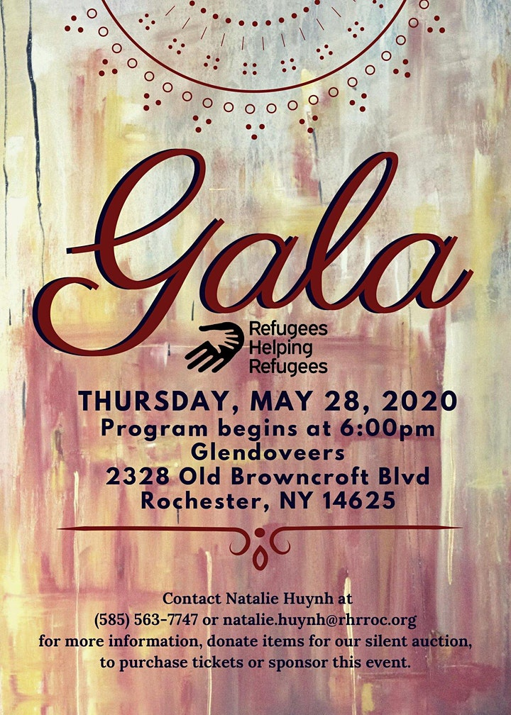Refugees Helping Refugees First Annual Gala image