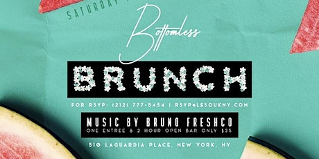 Le Souk Weekend  Bottomless Party Brunch (Saturday) tickets