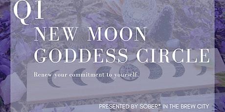 Q1 New Moon Goddess Circle tickets