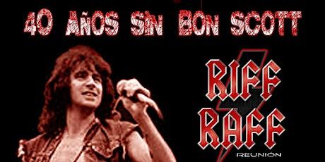 40 Años sin Bon Scott. Homenaje AC/DC entradas