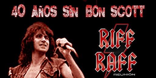 40 Años sin Bon Scott. Homenaje AC/DC