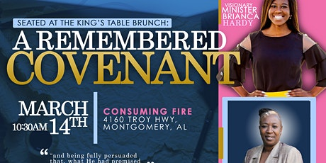 """Seated At The King's Table Brunch 2020: """"A Remembered Covenant"""" tickets"""