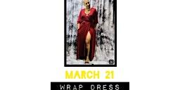 9am Wrap Dress
