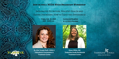 Join Us for a Breakfast Workshop during National Eating Disorders Awareness Week! tickets