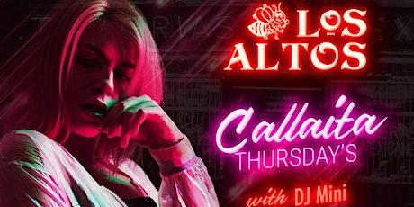 Los Altos Callaita Thursdays tickets