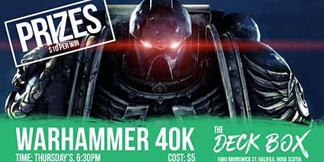 Warhammer 40K tickets