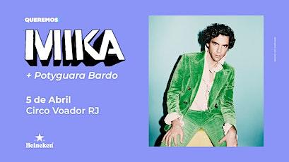 Pré-Venda Queremos! MIKA no Rio de Janeiro ingressos