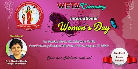 International Women's Day by Women Empowerment Telugu Association tickets