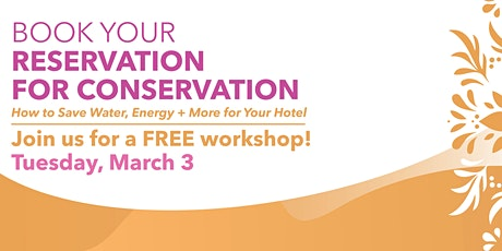 Book Your Reservation for Conservation tickets