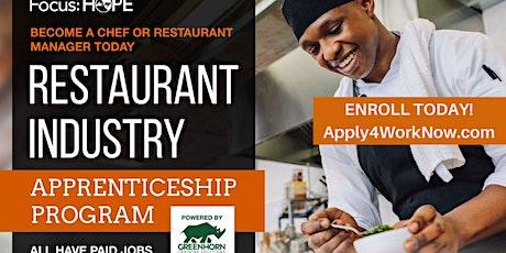 Restaurant Apprenticeship Training Program tickets
