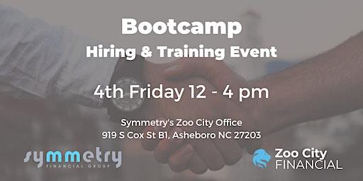 Hiring & Training Event