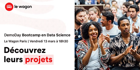 [Bootcamp Data Science ] Le Wagon Demo Day  tickets
