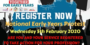National Early Years Protest