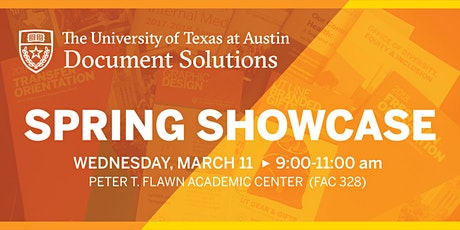 UT Document Solutions Spring Showcase 2020 tickets