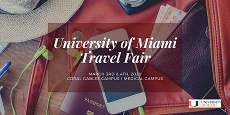 The University of Miami Travel Fair 2020: Coral Gables Campus tickets