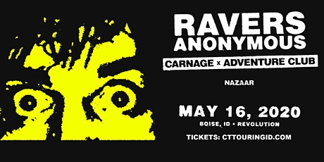 Carnage X Adventure Club tickets
