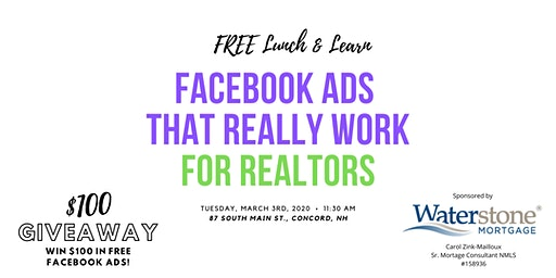 Facebook Ads that Really Work for Real Estate Lunch & Learn