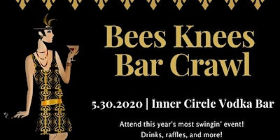 Bees Knees Bar Crawl benefiting St.Jude & Tulsa's Gold4Kids