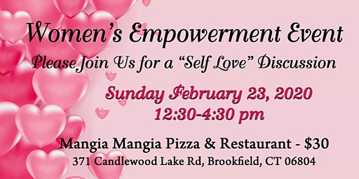 "Women's Empowerment -"" Self Love"" Discussion"