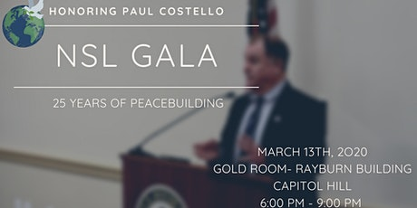 NSL GALA- Honoring Paul Costello  tickets