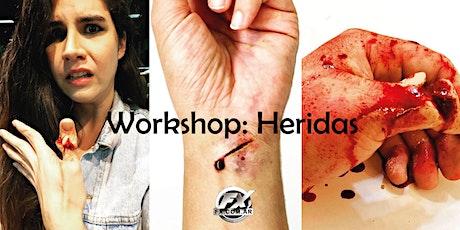 Efectos Especiales: Heridas entradas