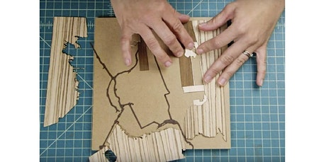 Team Building Custom Wood-Inlay Mapmaking Workshop (PRIVATE, ONSITE AT YOUR LOCATION) (05-07-2020 starts at 3:00 PM) tickets
