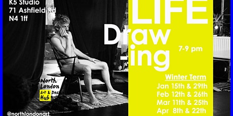 Every Other Wednesday Life Drawing  tickets