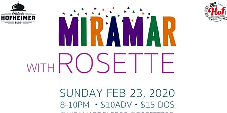 Miramar wsg Rosette Strings: Russian Sendoff tickets