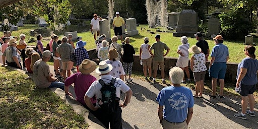 Cape Fear Unearthed's tour of Oakdale Cemetery