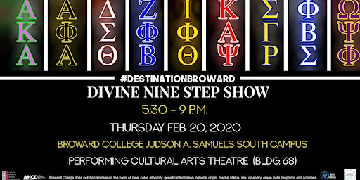 Divine Nine Step Show at BC South Campus