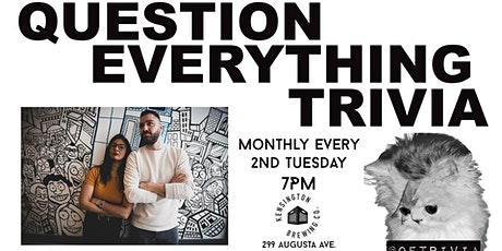 Question Everything Trivia @ Kensington Brewing Co. tickets