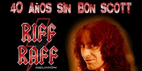40 Años sin Bon Scott. Homenaje AC/DC en Salamanca entradas