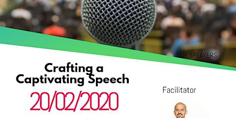 Crafting a Captivating Speech -THIS EVENT IS NOW  SOLD OUT tickets