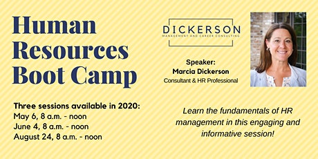 Human Resources Boot Camp tickets