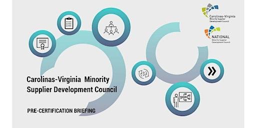 CVMSDC Pre-Certification Orientation - Charlotte, NC